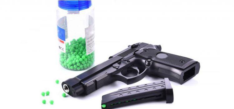 se necesita permiso para tener una pistola de aire comprimido