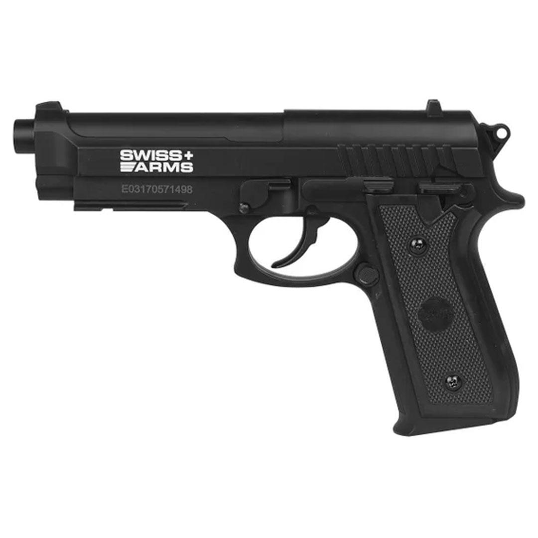 pistola Ecommur SA P92 BAX CO2 Negra